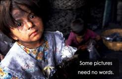 child in extreme poverty