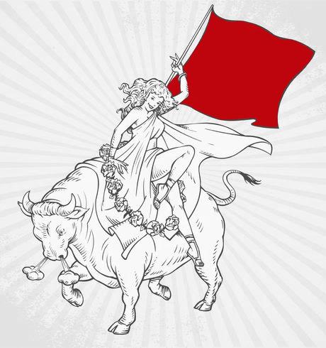 red-flag-bull
